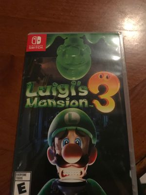 luigis mansion 3 (not sealed but mint condition) for Sale in Chula Vista, CA