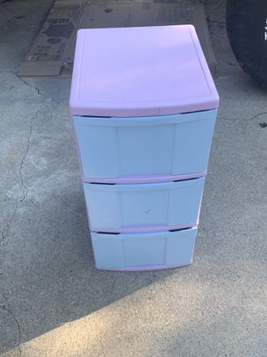 3 drawer storage for Sale in Whittier, CA