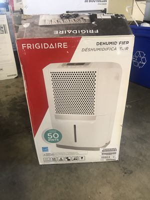 NEW Frigidaire 50 pint dehumidifier for Sale in Upland, CA