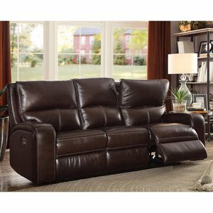 50%OFF // COSTCO LEATHER POWER RECLINING SOFA for Sale in San Diego, CA