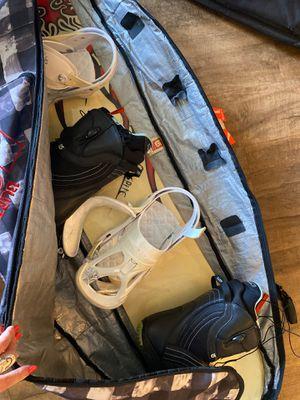 Women's snowboard kit - boots, bindings, helmet, bag for Sale in San Diego, CA