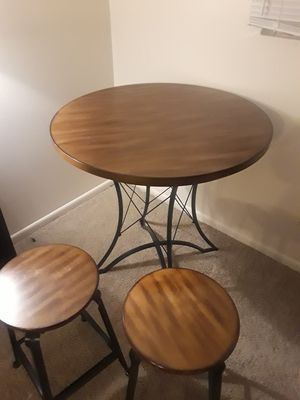 Dining table w/ 2 stools for Sale in Columbus, OH