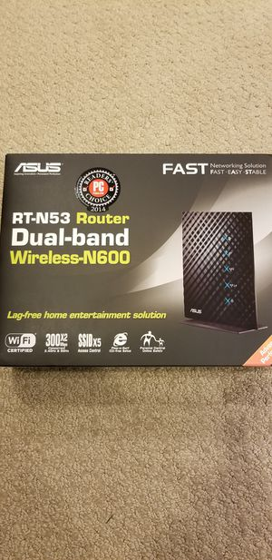 Asus rt-n53 dual band router for Sale in Oregon City, OR