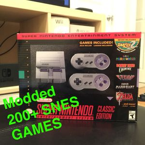 SNES Classic Nintendo Modded BRAND NEW for Sale in Philadelphia, PA