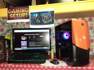 Gaming Computer Setup With Msi Gaming X Geforce Gtx 1650 +1080p Lcd + for Sale in Kennedale, TX