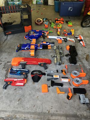 Nerf Guns and Accessories for Sale in Tamarac, FL