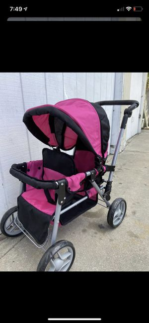 Double doll stroller for Sale in Rancho Palos Verdes, CA