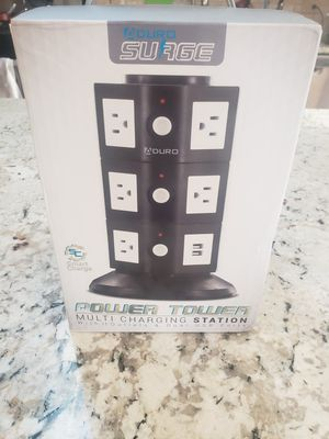 Surge protector power tower for Sale in Buffalo Grove, IL