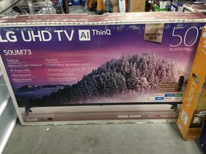 """LG 50"""" UHD Thin Smart tv with magic remote for Sale in Largo, FL"""