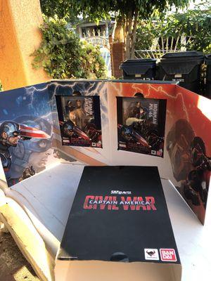 SHFiguarts captain America civil war collectible action figures for Sale in Los Angeles, CA