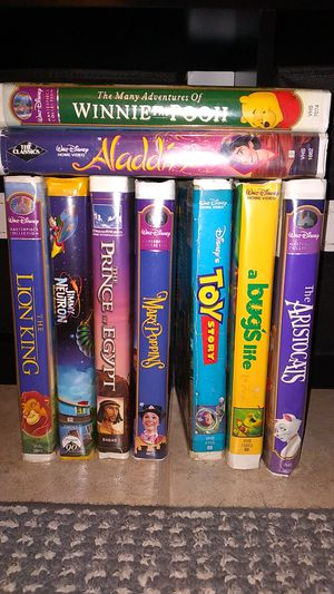 VHS (pack of 9) for Sale in Arcadia, CA
