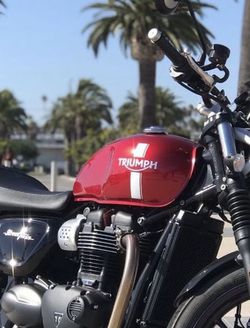 2017 Triumph Street Twin for Sale in Los Angeles,  CA