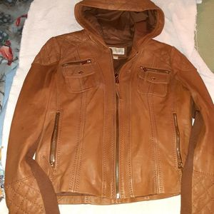 Leather Michael KORS Jacket for Sale in Wabash, IN