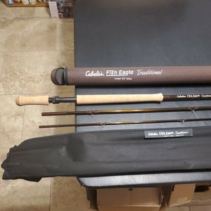 """Cabela's Traditional 12'4"""" 8/9 Wt.Fly Rod With Sleeve and Hard Case for Sale in Gilbert, AZ"""