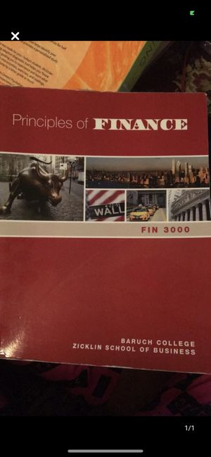 Principles of Finance for Sale in Queens, NY