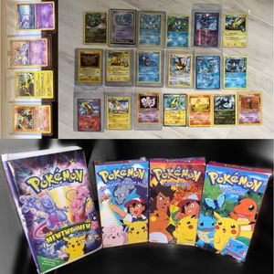 BUNDLE Pokémon Cards and VHS Tapes for Sale in Shinnston, WV