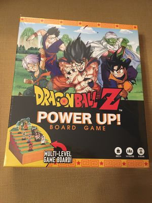 NEW! DragonballZ Power Up board game for Sale in Plainfield, IL