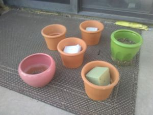 7 pots for $5 for Sale in Hesperia, CA