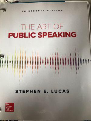 The Art of Public Speaking for Sale in Norfolk, VA