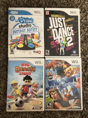 Wii video games for Sale in Claremont, CA
