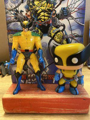 "Wolverine X-Men Action FIGURE Series 8"" Wolverine Funko Pop 05 Vinyl Figure- Marvel Comic Book #100 Non Foil. for Sale in El Paso, TX"