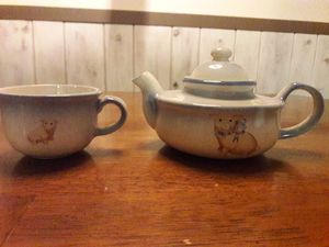 Pig teapot and cup for Sale in Gresham, OR