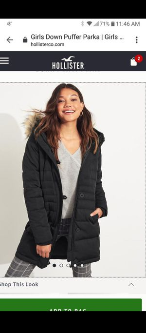 Women hollister jacket for Sale in Gervais, OR