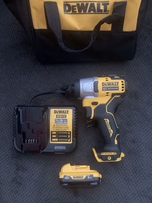 Dewalt 1/4 Impact Driver 12V. SET 🔥 $100 Firm Price no less🔥Pick up in the city of Van Nuys for Sale in Los Angeles, CA