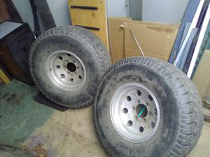 15inch rims with 33inch tires for Sale in Saylorsburg, PA
