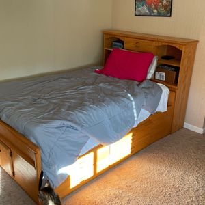 Full Size Bed Frame And Mattress for Sale in Hayward, CA