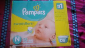 pampers swaddlers newborn for Sale in Glendale, AZ