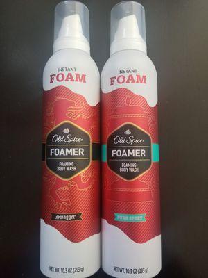 Men's Old Spice Foaming Body Wash for Sale in Bellflower, CA