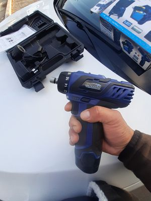 1/4 drive impact and drill combo.12 volt lithium power free free delivery for Sale in Ontario, CA