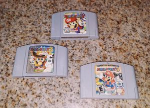 Original Mario Party Games For the Nintendo 64 / N64 for Sale in Riverside, CA