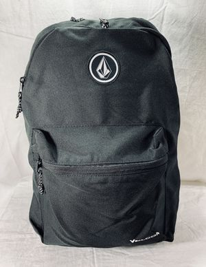 VOLCOM Academy 18L BackPack Black  Travelling Hiking Walking Work BRAND NEW for Sale in Littleton, CO