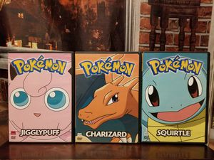 Pokemon 2 3 4 JigglyPuff Charizard Squirtle Anime Pikachu Kids Family Animated DVD for Sale in Tampa, FL
