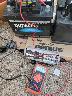 Car Agm batteries Duracell, superstart, for Sale in Lake Elmo, MN