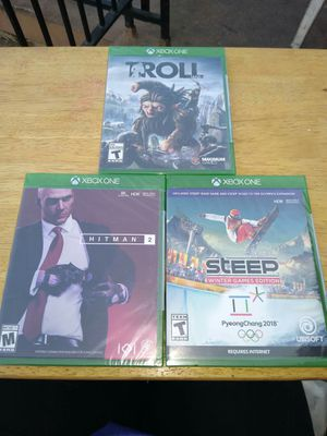 NEW XBOX ONE GAMES for Sale in Upland, CA