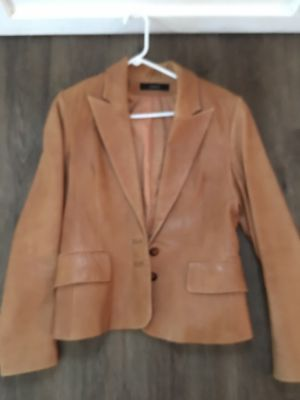 Leather jacket large for Sale in Sanger, CA