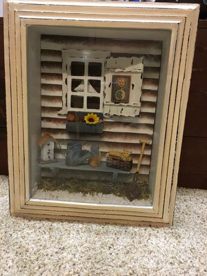 Garden shed shadow box for Sale in North Ridgeville, OH