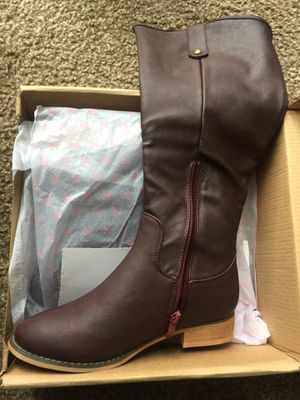 Brand new women boots size 6.5. Only serious buyers for Sale in West Valley City, UT