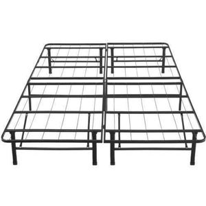 Tempo Collection 14in High Profile Platform Smart Base Bed Frame, Queen Size for Sale in Garden Grove, CA