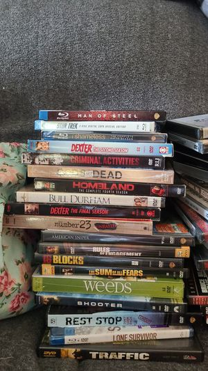 DVD movies. Brand new. 2 dollars a piece for movies. 4 for series for Sale in Peoria, IL