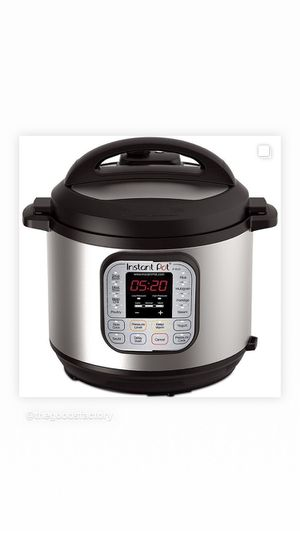 Instant Pot DUO60 7-in-1 Programmable Pressure Cooker 6-Qt. for Sale in Houston, TX