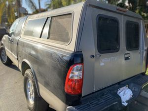 Gemtop camper shell for Sale in San Diego, CA