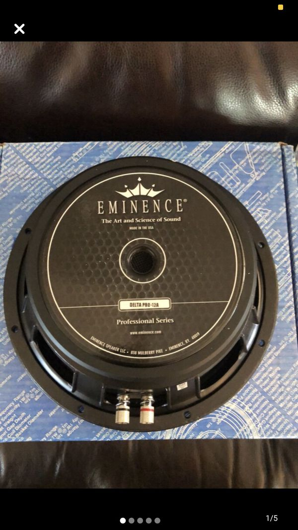 """Eminence DELTA-PRO12A 12"""" full range speaker"""