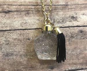 New Perfume Bottle & Tassel Necklace for Sale in East Brunswick, NJ