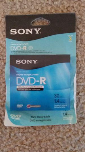 NEW Sony Handycam DVD-R 2 discs for Sale in Falls Church, VA