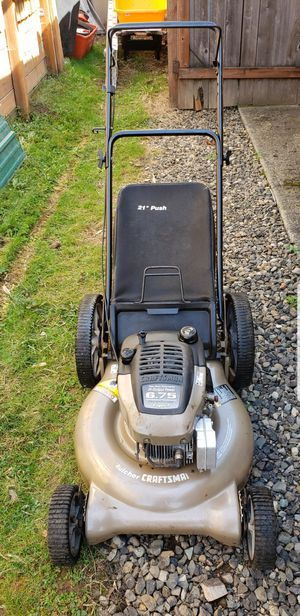 Craftsman push lawn mower! for Sale in Clackamas, OR