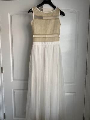 Beach wedding dress with sheer sections (size S) for Sale in Elmhurst, IL